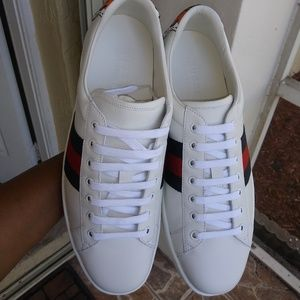 Gucci 100% AUTHENTIC Mens Sneakers SZ 10